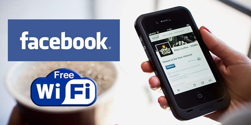 Connect with your customers using Facebook Wi-Fi
