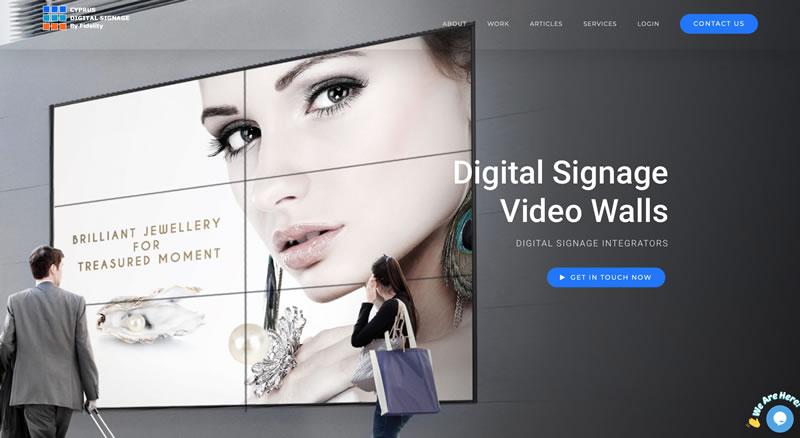 Digital Signage in Cyprus